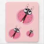 Lady Bugs Mouse Pad