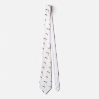 Lady Bugs Orchids Neck Tie