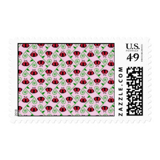 lady bugs postage