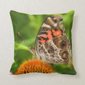 Lady Butterfly Pillow