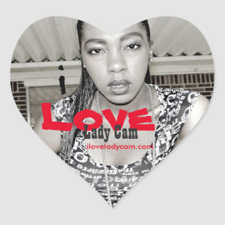 Lady Cam Iloveladycam Sticker