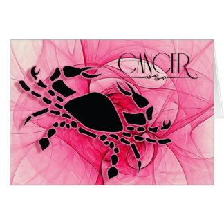 Lady Cancer Zodiac Blank Note Cards