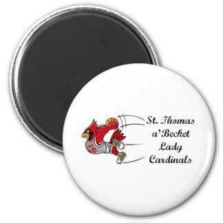 Lady Cardinals magnet