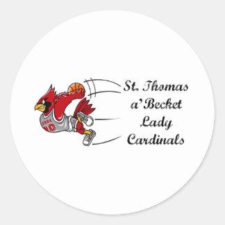 Lady Cardinals sticker