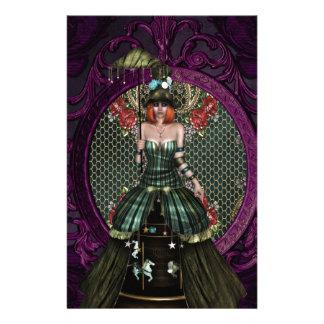 Lady Carnival Stationery