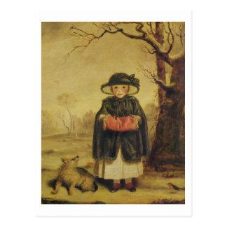 Lady Caroline Montagu, c.1776 (oil on canvas) Postcard