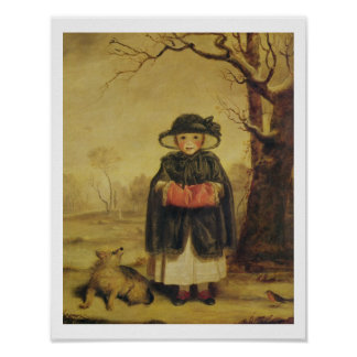 Lady Caroline Montagu, c.1776 (oil on canvas) Poster