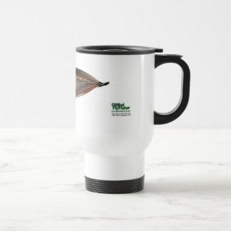Lady Caroline Salmon Fly Travel Mug