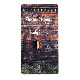 Lady Castle Jones  Bookplate