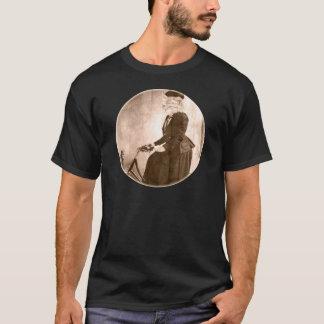 lady cat on a bike T-Shirt