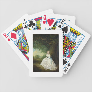 Lady Chambers, c.1789 (oil on canvas) Bicycle Playing Cards