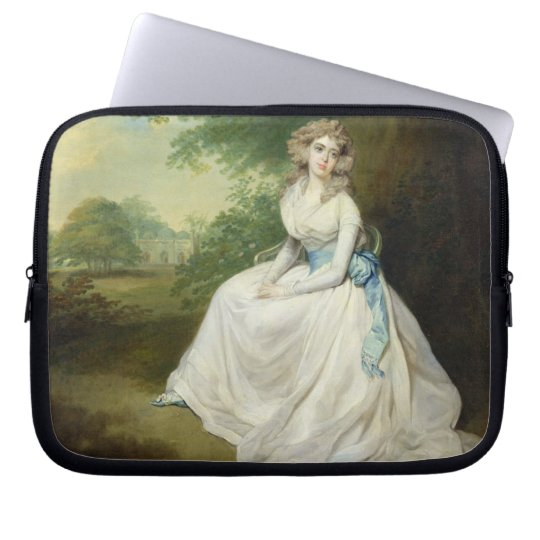 Lady Chambers, c.1789 (oil on canvas) Laptop Sleeve
