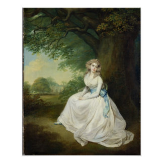 Lady Chambers, c.1789 (oil on canvas) Poster