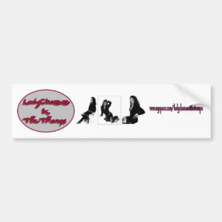 Lady Chazz and The Tramps Bumper Sticker
