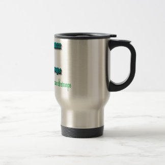 Lady Chazz and The Tramps Travel Coffee Mug
