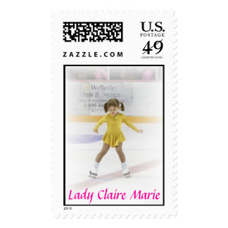 Lady Claire Marie Postage Stamps
