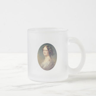Lady clementina's child 10 oz frosted glass coffee mug