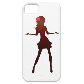 lady cover iphone 5 barly there QPC template