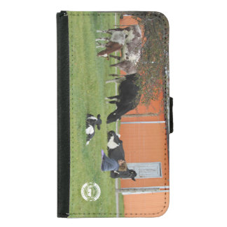 Lady & Cows Wallet Case