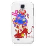 Lady Cream Dream Galaxy S4 Cases