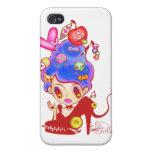 Lady Cream Dream iPhone 4/4S Cover