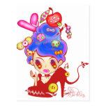 Lady Cream Dream Postcard