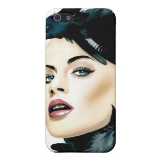 LADY CROW COVER FOR iPhone SE/5/5s