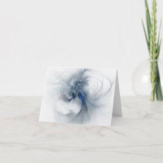 Lady Dancing BLANK Note Card