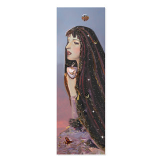 Lady Dawn mini Bookmark Double-Sided Mini Business Cards (Pack Of 20)