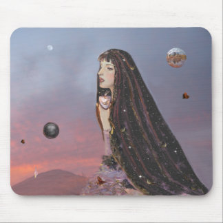 Lady Dawn! Mouse Pad