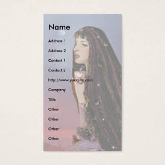 Lady Dawn template! Business Card
