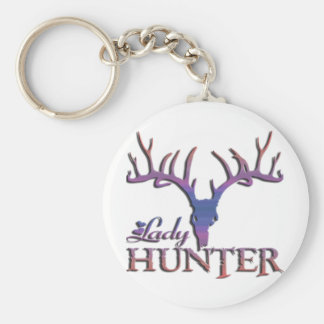 LADY DEER HUNTER KEYCHAIN