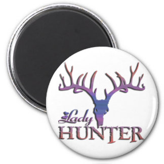 LADY DEER HUNTER MAGNET