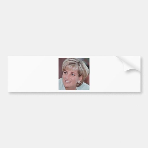 Lady Diana Bumper Stickers