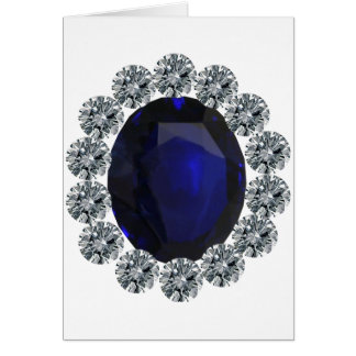 Lady Diana Engagement Ring Card