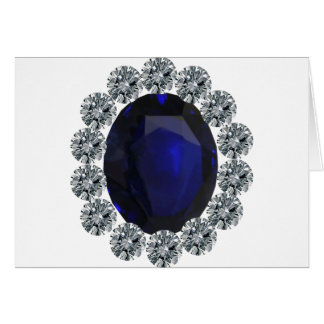 Lady Diana Engagement Ring Greeting Card