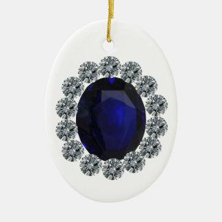 Lady Diana Engagement Ring Ceramic Ornament