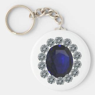 Lady Diana Engagement Ring Keychain