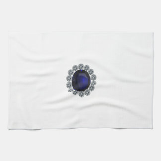 Lady Diana Engagement Ring Kitchen Towel
