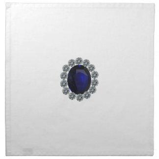 Lady Diana Engagement Ring Cloth Napkin