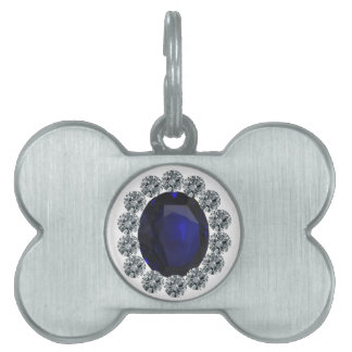 Lady Diana Engagement Ring Pet Tags