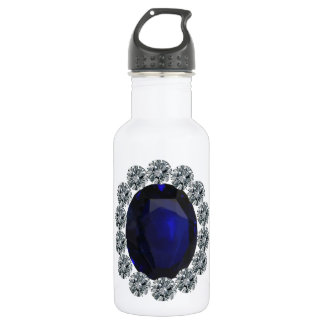 Lady Diana Engagement Ring 18oz Water Bottle