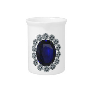 Lady Diana Engagement Ring Drink Pitchers