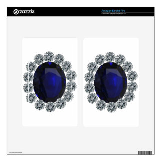 Lady Diana Engagement Ring Decals For Kindle Fire