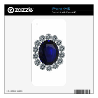 Lady Diana Engagement Ring Skin For The iPhone 4