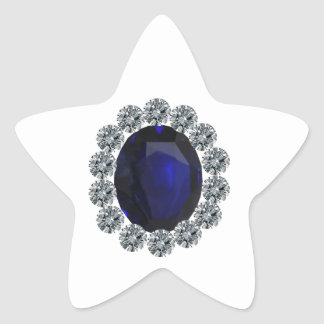 Lady Diana Engagement Ring Star Sticker