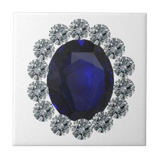 Lady Diana Engagement Ring Ceramic Tiles