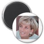 Lady Diana Fridge Magnet