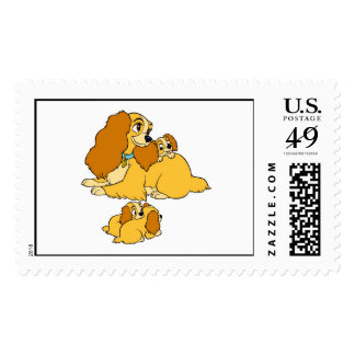 Lady Disney Stamp