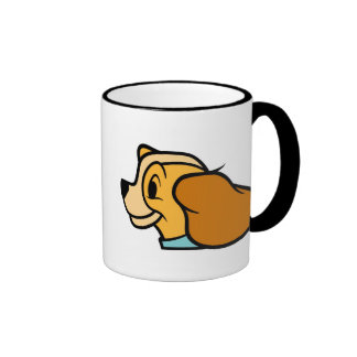 Lady Disney Ringer Coffee Mug